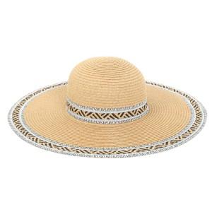 Ψάθινο καπέλο μπεζ 47272
